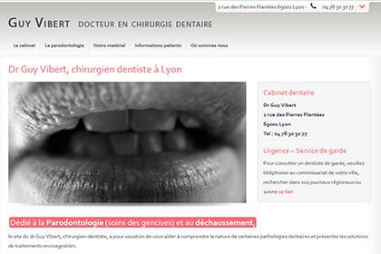 Dr Vibert - Chirurgien dentiste
