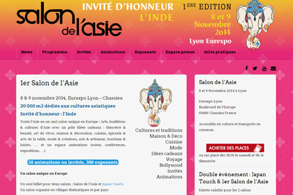 Salon de l'asie 2014