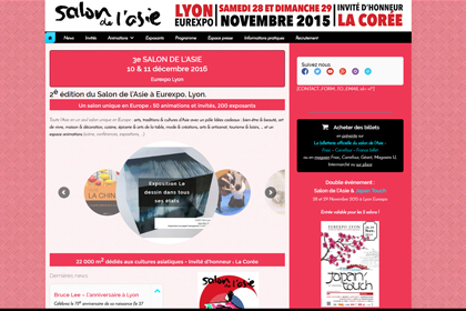 Salon de l'Asie 2015