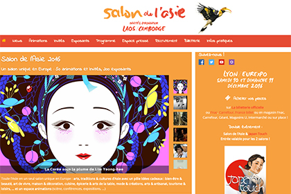 Salon de l'Asie 2016